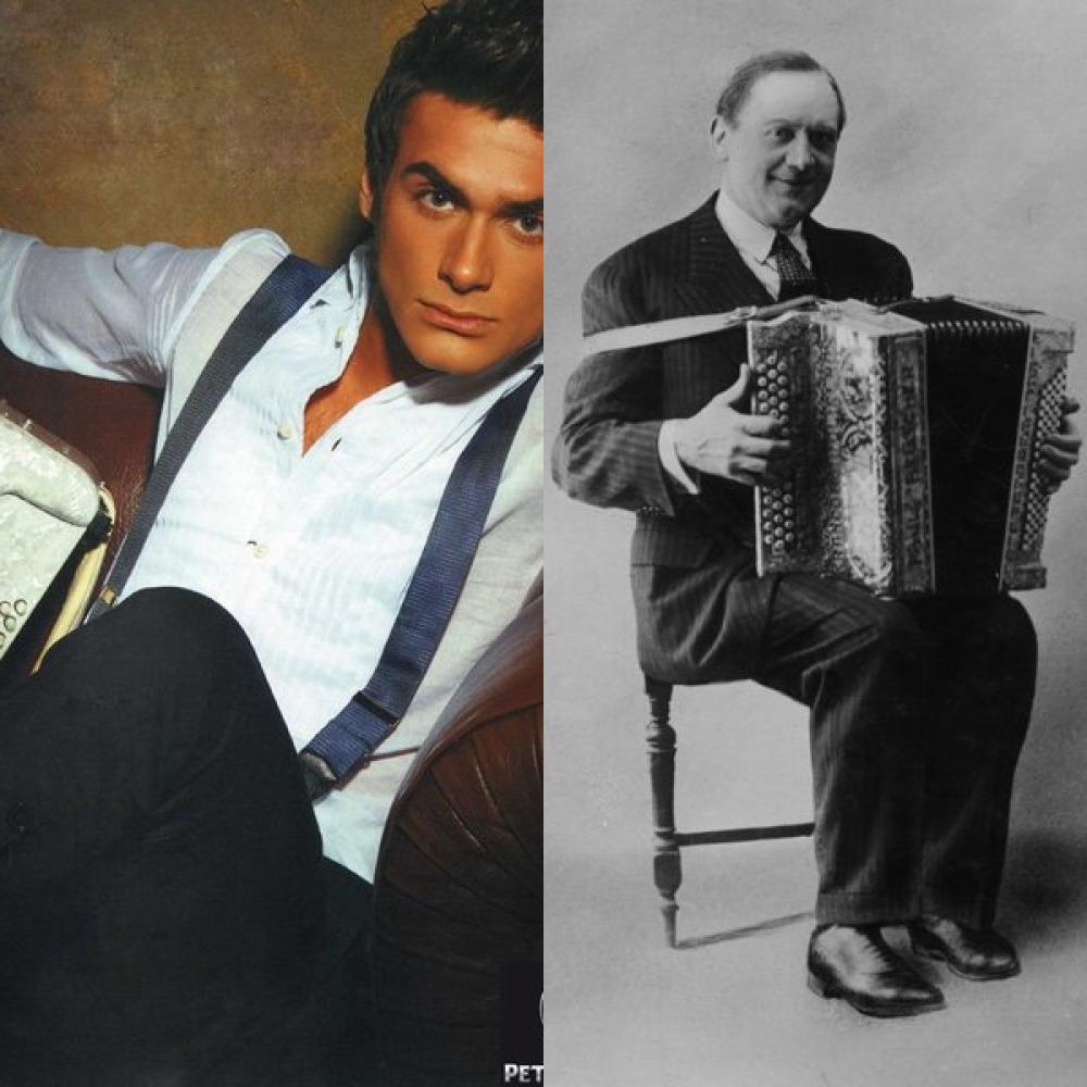 Любимому парню, французская открытка аккордеон слушать