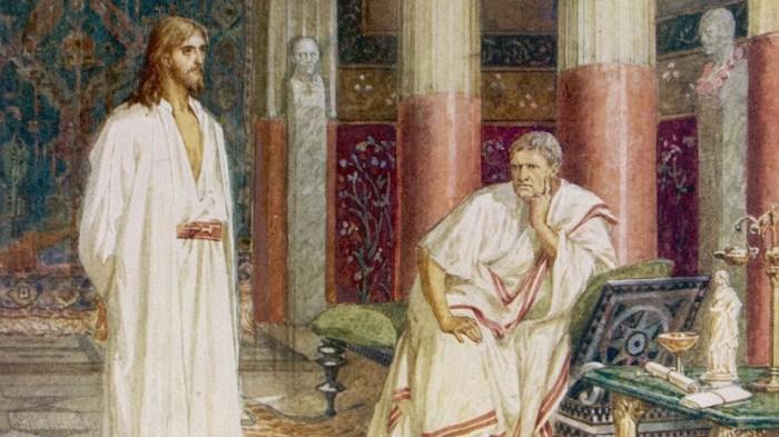 Пилат не испытывал личной неприязни к Иисусу Христу, и его роль в тех далеких событиях оценивается неоднозначно. /Mary Evans Picture Library